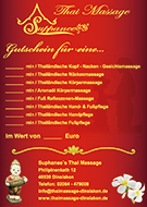 Gutschein Thai-Massage